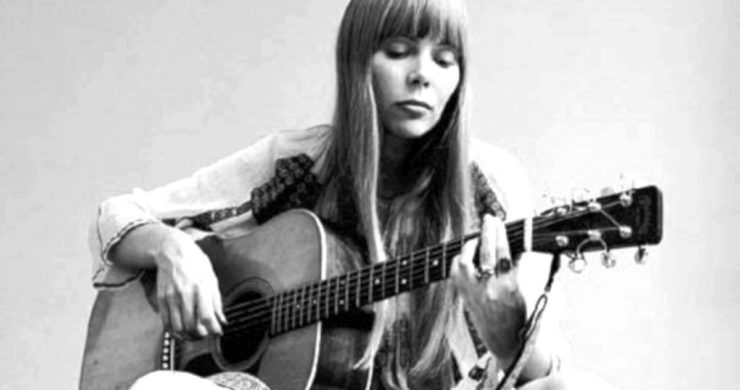 Joni Mitchell in the early 1970s