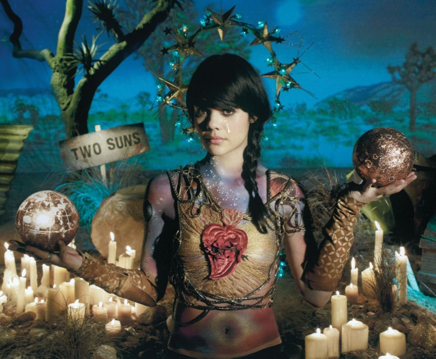How does Two Suns end up?Bat For Lashes is joined by Scott Walker
