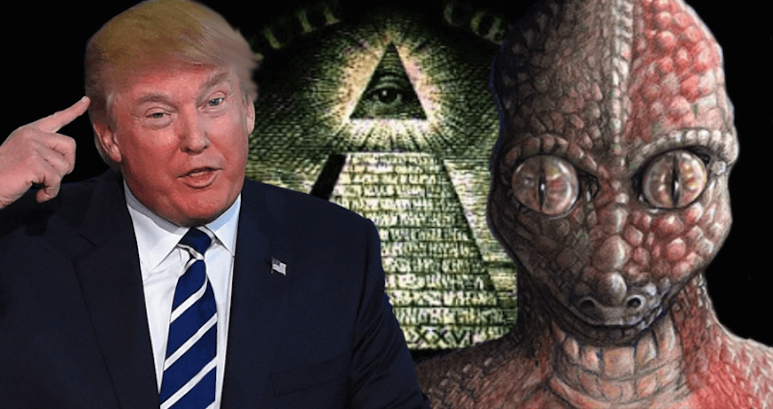 One is a slimy, scaly, manipulative freak, the other is a lizard alien.