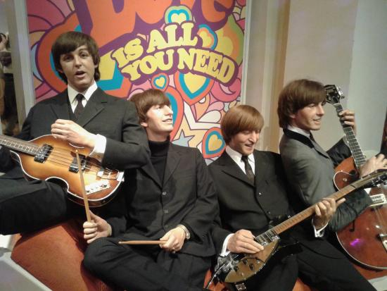 The real thing or substitutes? The Beatles at Madame Tussauds