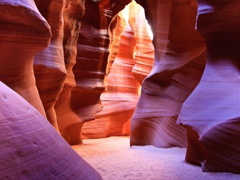 Antelope Slot Canyons, Arizona.
