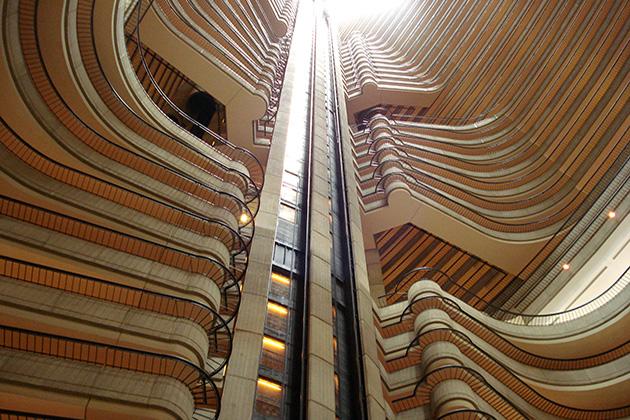 Marriott Marquis Hotel, Peachtree Center Avenue, Atlanta, Georgia