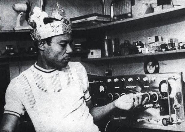He wears the crown … King Tubby