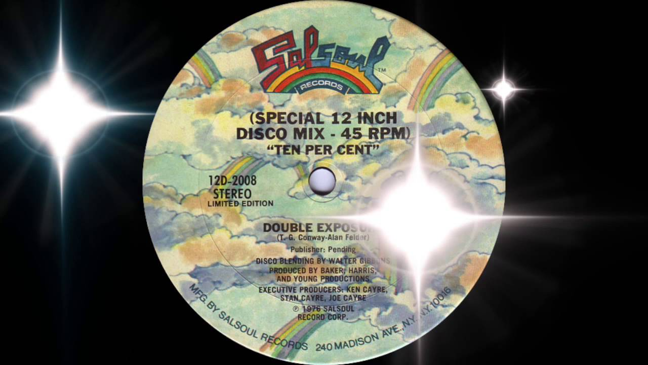 Double Exposure's Ten Per Cent Special 12-inch version