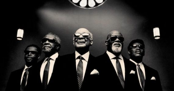 The Blind Boys of Alabama in later years, including founders Clarence Fountain and Jimmy Carter