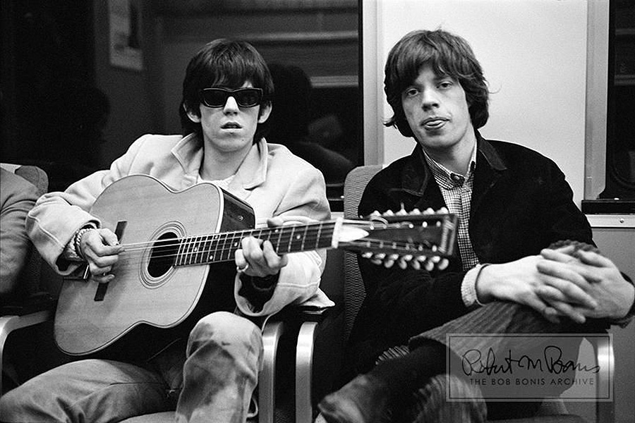 Chess Records enthusiasts Mick and Keith