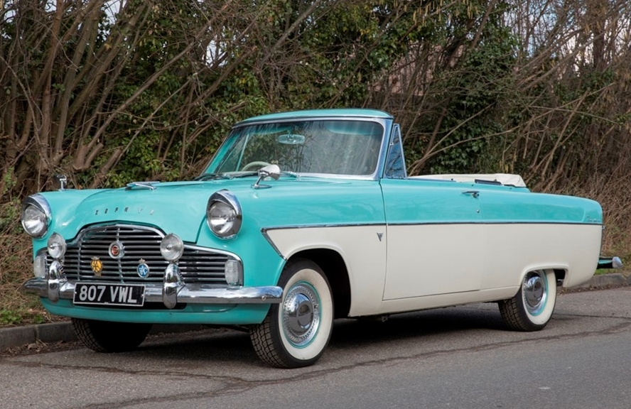 The 1961 Ford Zephyr MkII. Other Zephyrs are available in song lyrics