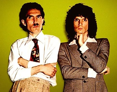 Bright Sparks. The very real Ron and Russell pose a few questions and have some of the answers