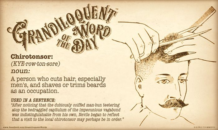 A word that was hair today, but gone tomorrow