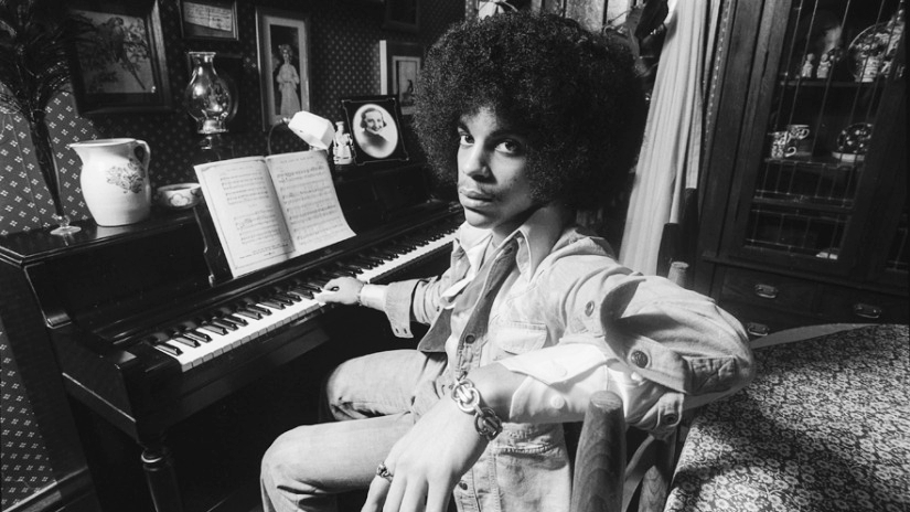 Prince in 1983. Master pianist, among many other things