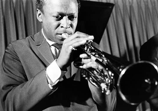Miles Davis in 1958