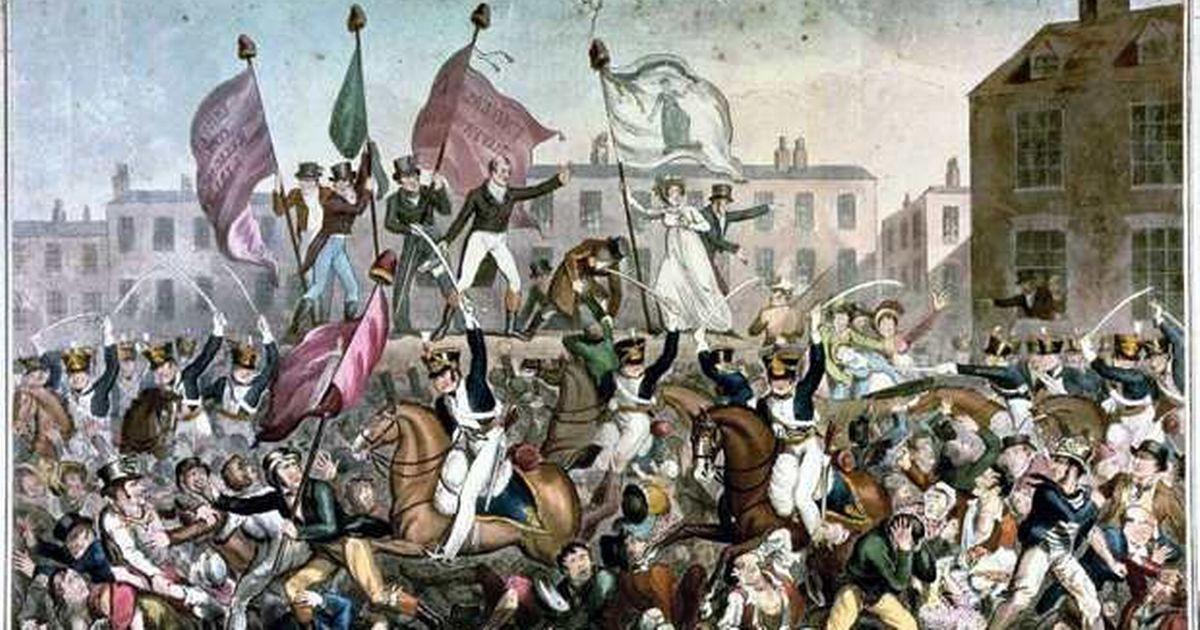 Peterloo Massacre, 1819