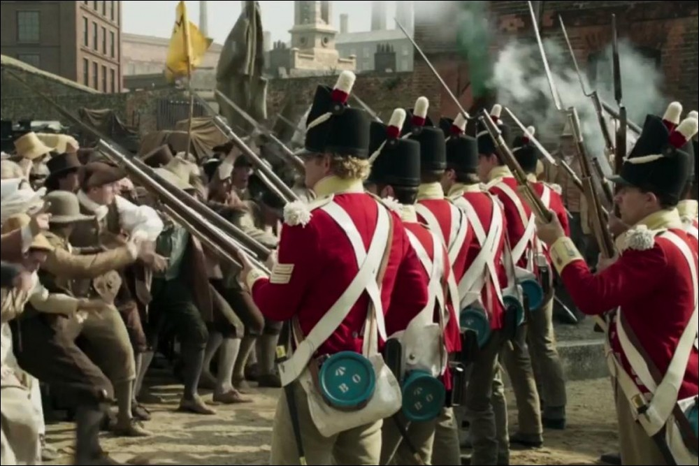 From Mike Leigh's Peterloo film, released in November 2018
