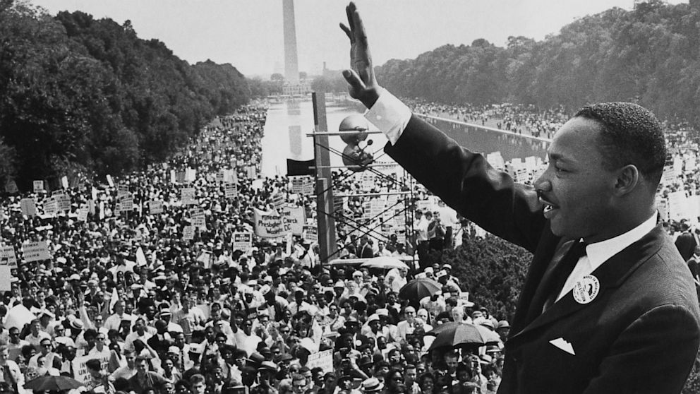 Martin Luther King, 28 August 1963