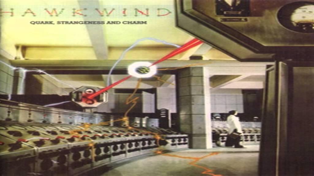 From Hawkwind's 1977 strangely particular album …