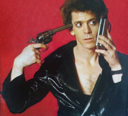 Hot shot Lou Reed
