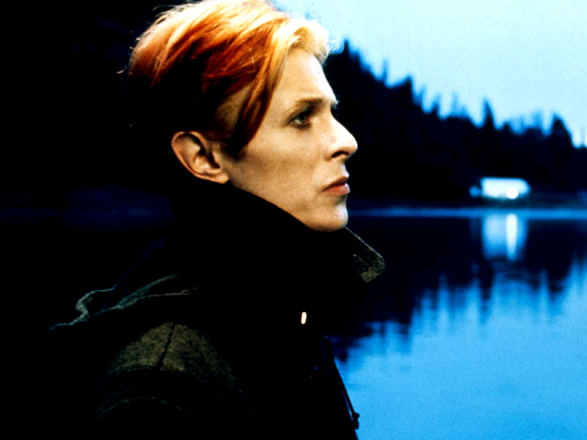 David Bowie in Nicolas Roeg's The Man Who Fell to Earth, music by Stomu Yamashta