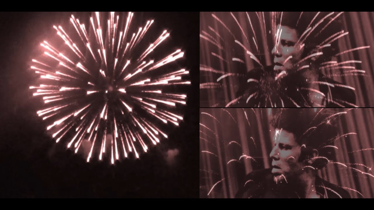 New Year's Eve fireworks with Tom Waits