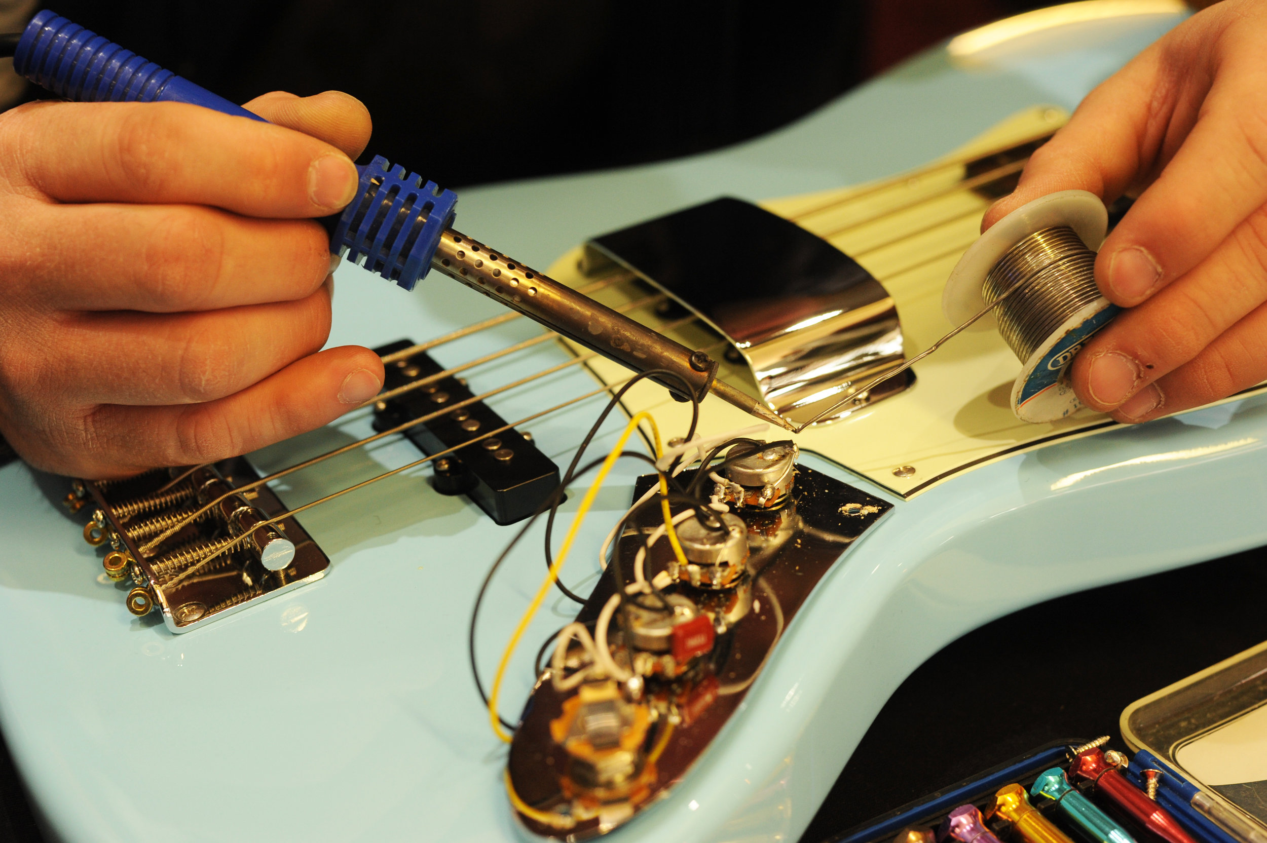 Heartstrings are harder to repair that guitars …
