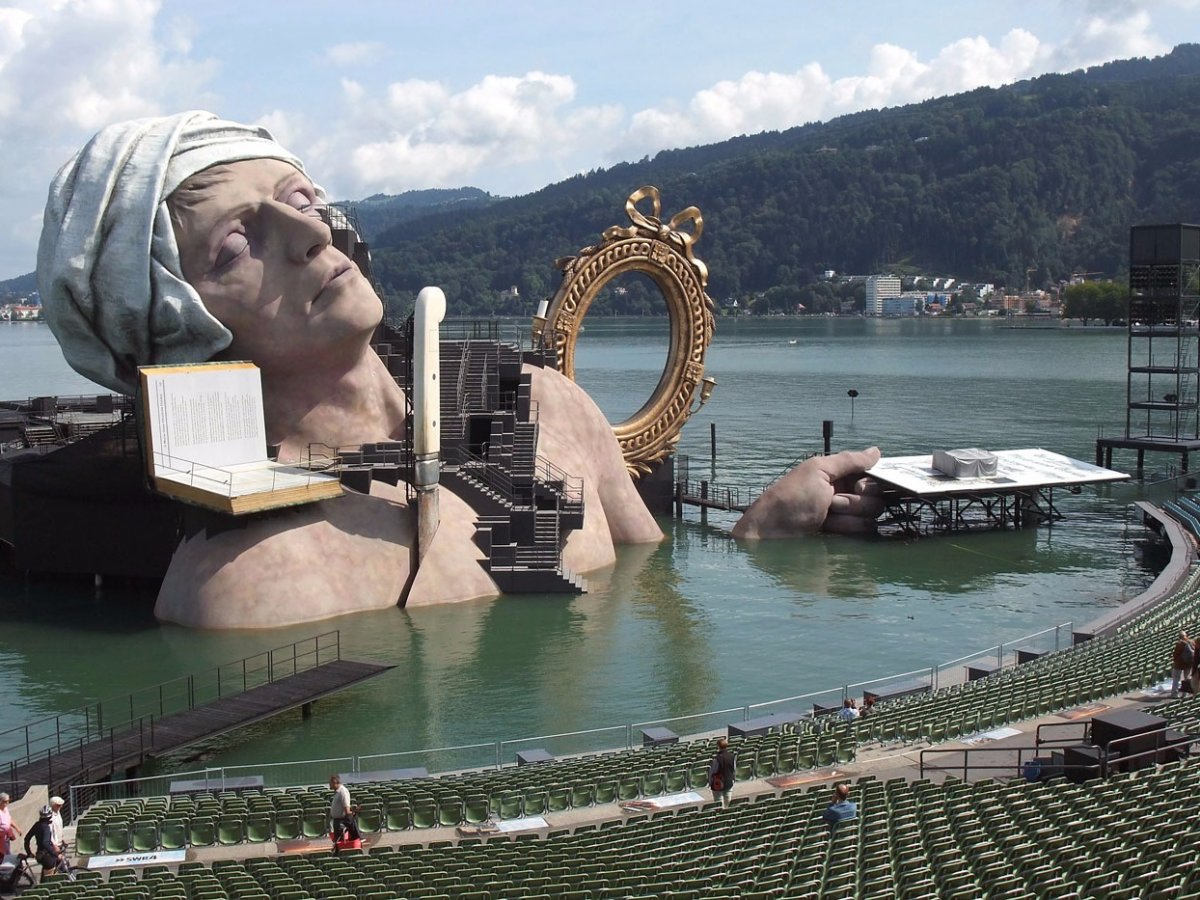 It's just a stage I'm going through: Bregenz Music Festival in Austria