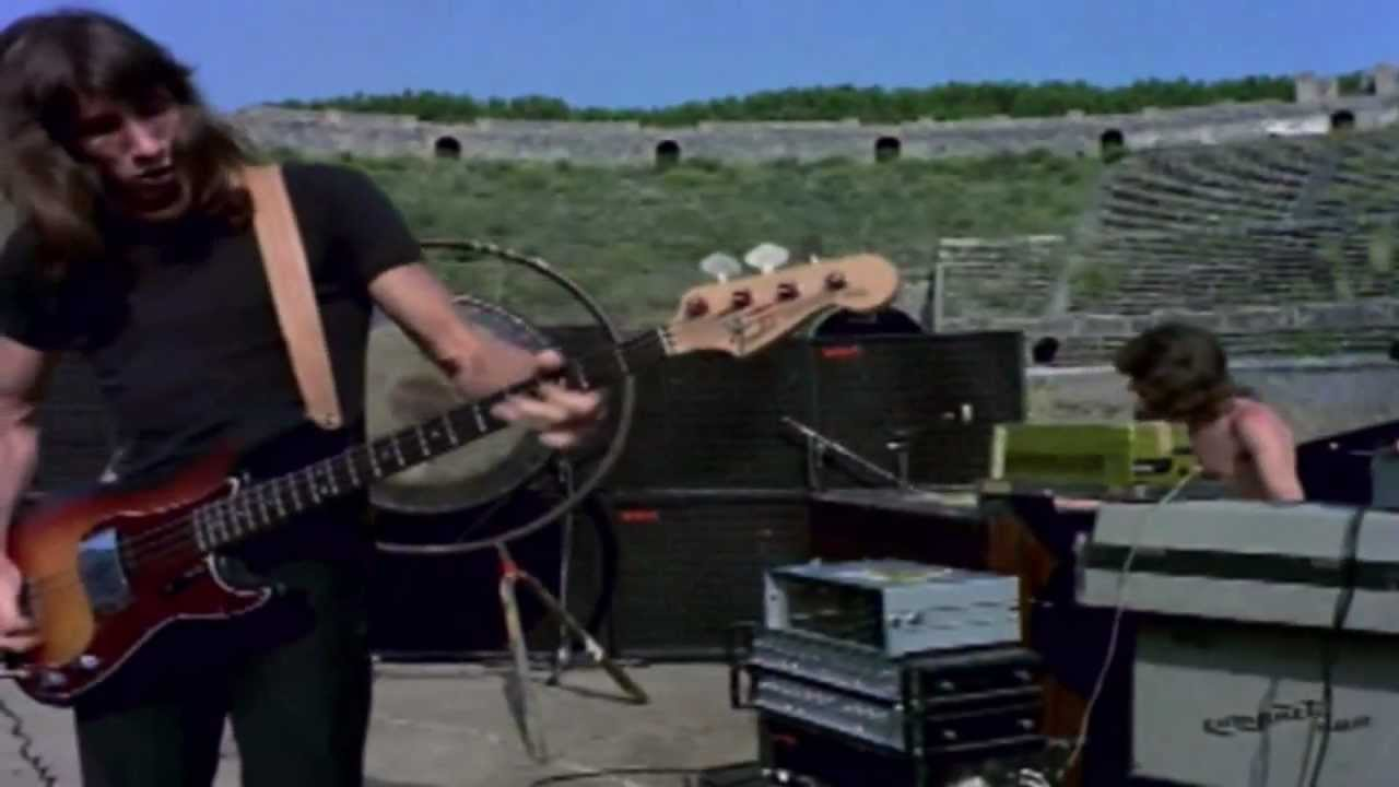 More echoes … Pink Floyd at Pompeii