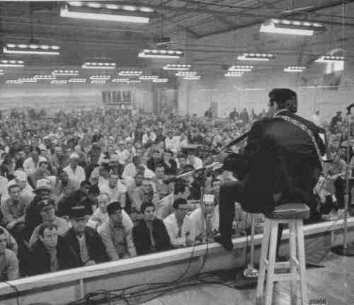 Rockin' with a lockin: Johnny Cash at St Quentin