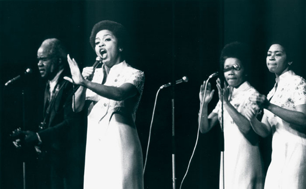 The Staple Singers - fronted by Mavis