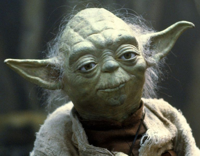 Yoda. Seeing the lighter side