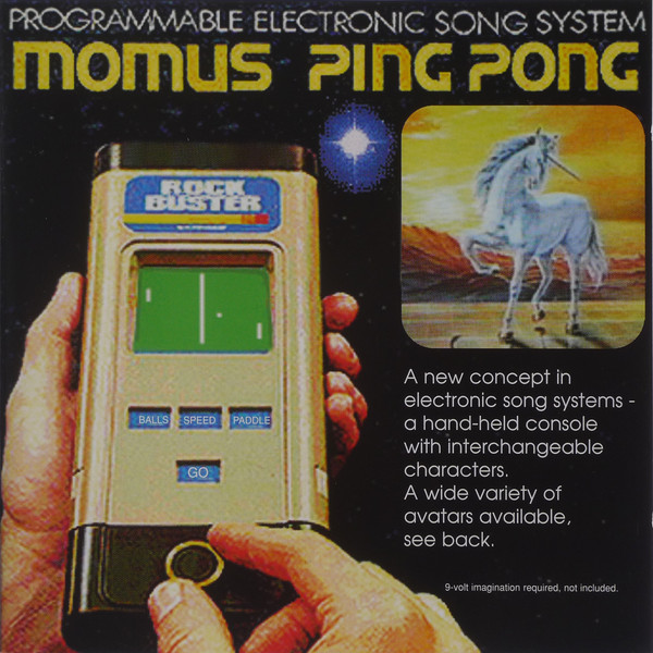 The cover of 1997's Momus album Ping Pong