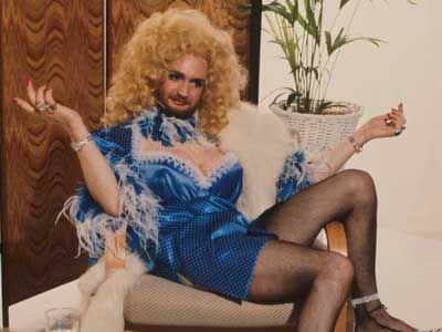 Kenny Everett in his later TV days as Cupid Stunt. All in the best possible taste …