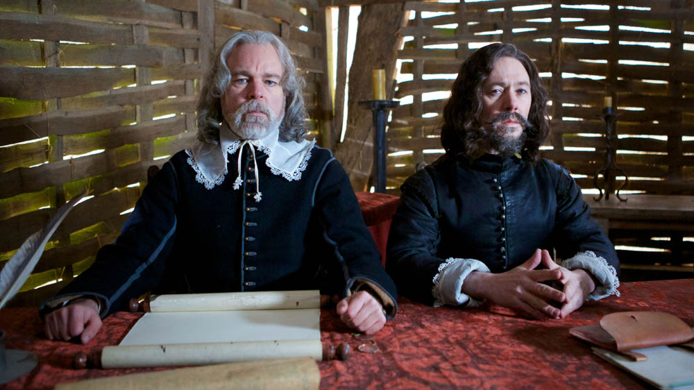 The hilariously dark parody, The Trial Of Elizabeth Gadge, written by and starring Reece Shearsmith and Steve Pemberton