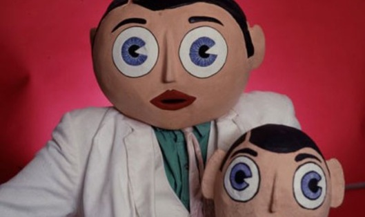 Spark of eccentricity: Frank Sidebottom (and little Frank)
