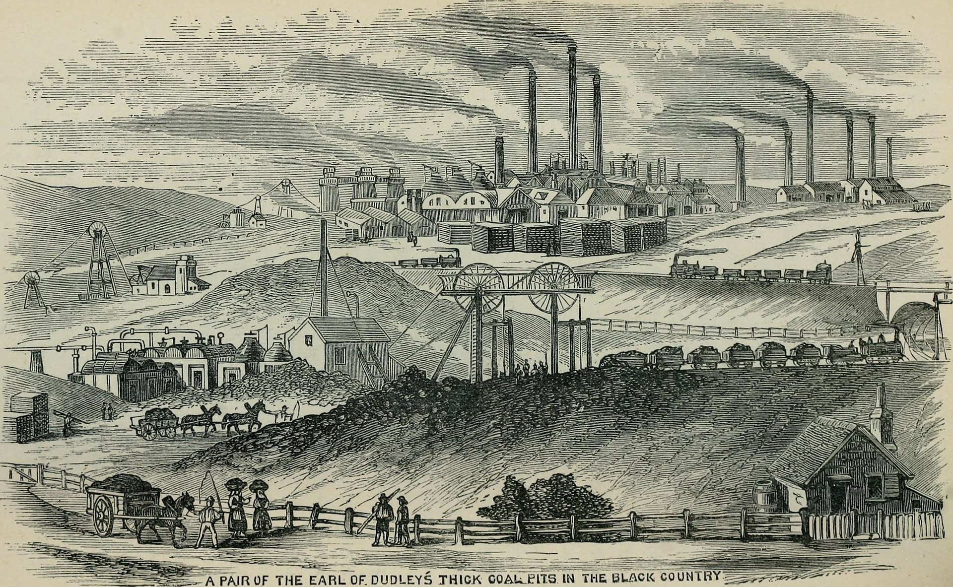 Victorian scenes of The Black Country