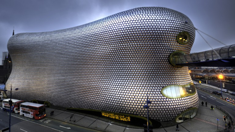 They sell fridges …. Selfridges building in Birmingham city centre