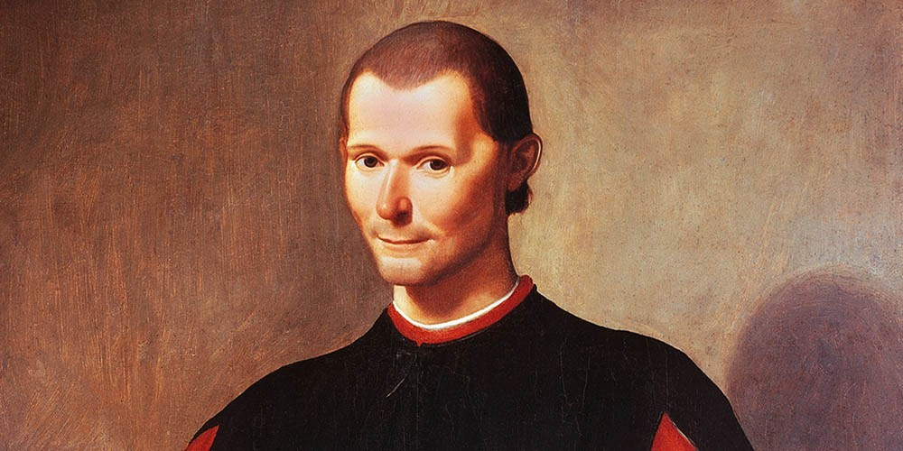 Butter wouldn't melt … Niccolò Machiavelli