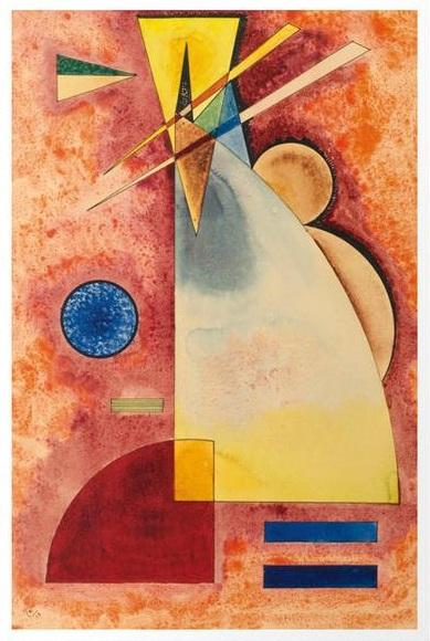 Intermingling by Wassily Kandinsky, 1928