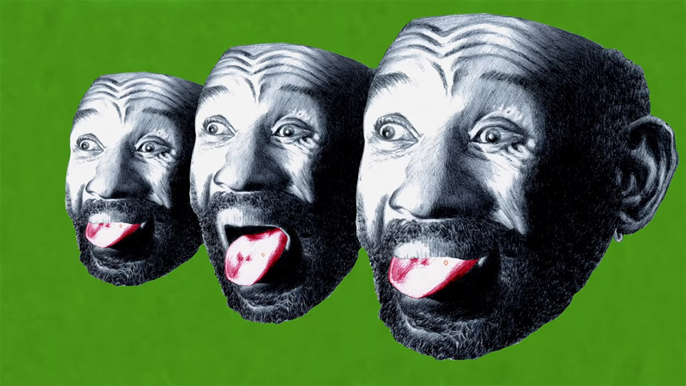 Lee 'Scratch' Perry, from the video for Let It Rain