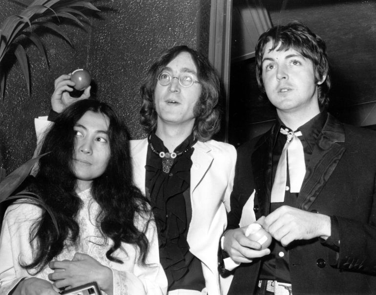 John, Yoko and Paul. Compromise is a divisive but potent issue …
