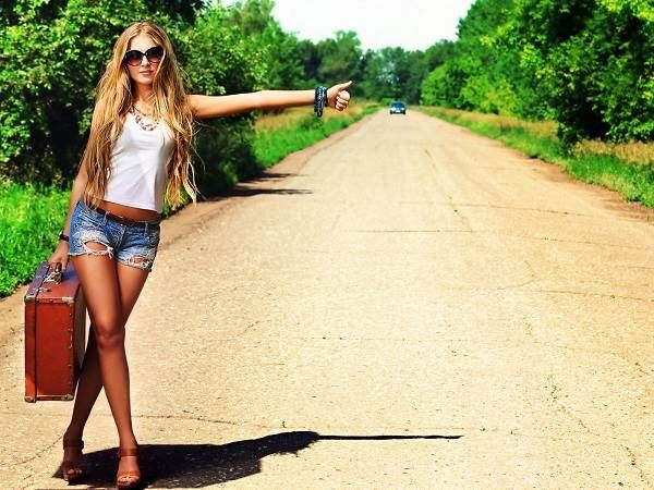 Hitchhiking can sometimes be a male fantasy. The reality for most women is far more fearful than seductive.