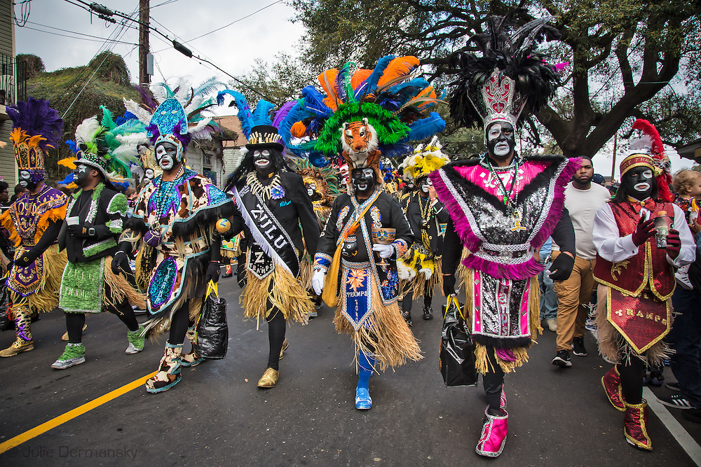 Mardi Gras in New Orleans has a Zulu tradition