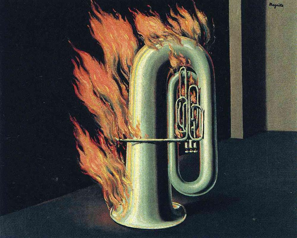 Magritte's The Discovery Of Fire