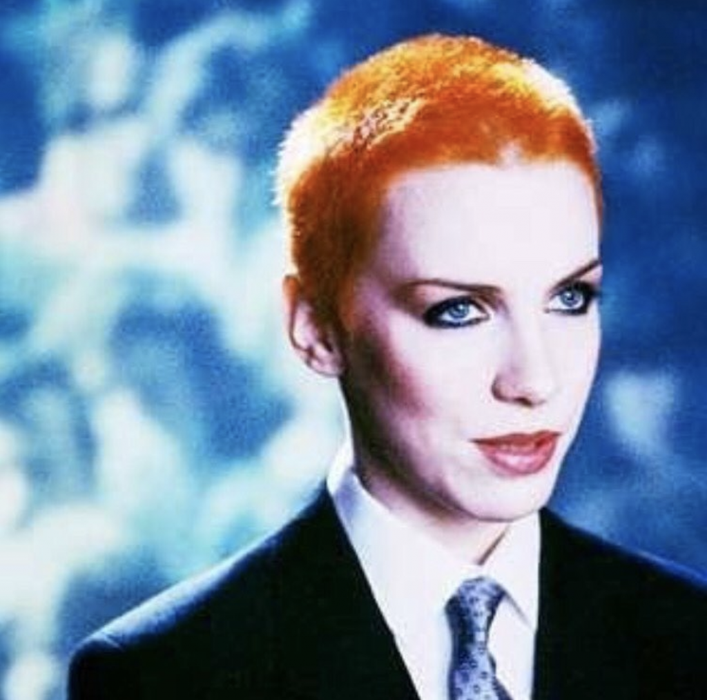 Annie Lennox. A image that's sexually ambiguous, or sweet dreams made of David Bowie?