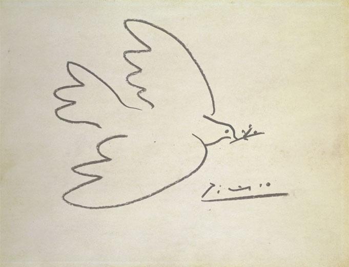 Pablo's dove of love
