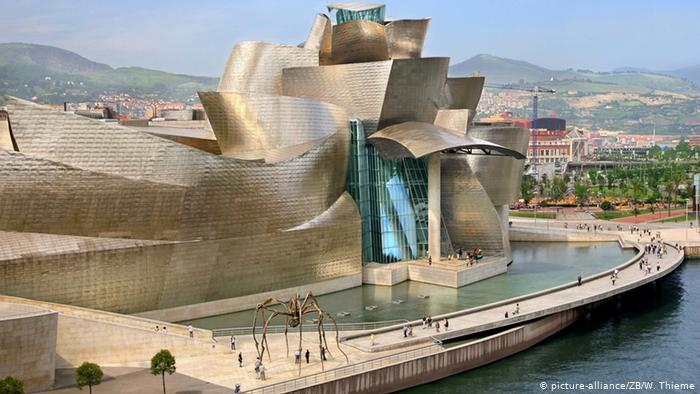 Frank Gehry's Guggenheim in Bilbao