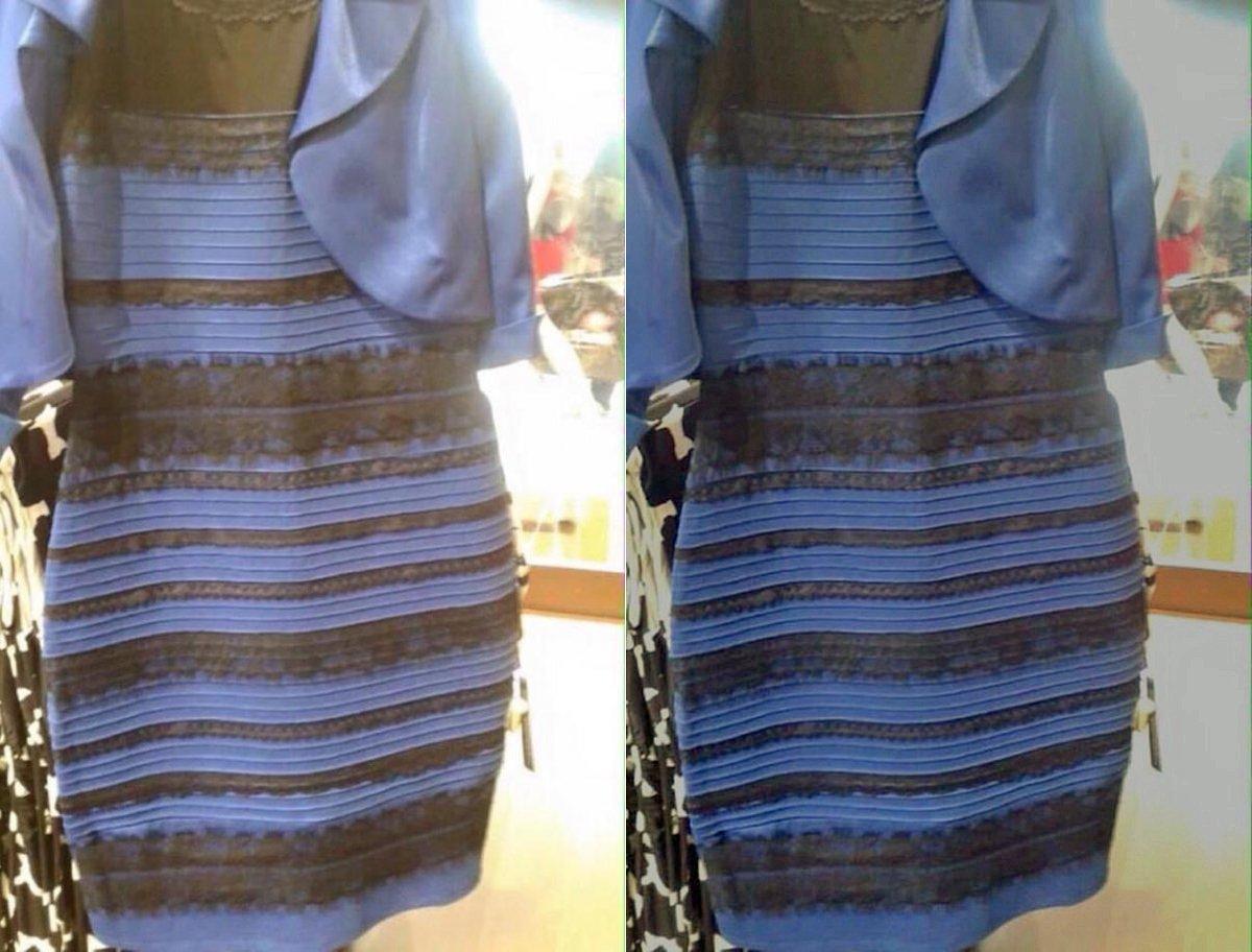 It's that dress again