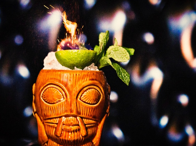 Flamin' hell: Midnight Cowboy cocktail
