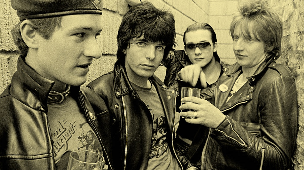 High spirits … The Damned start early