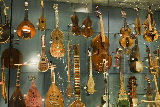 Horniman Museum, London. Part of the string section.