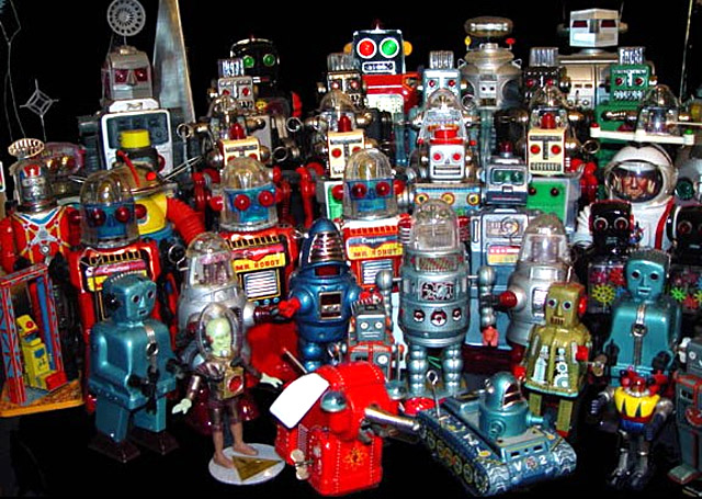 We are the robots …