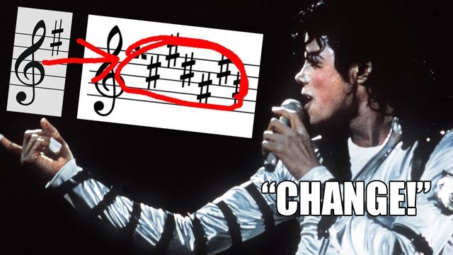 Michael Jackson had more than his fair share of changes. In one instance he takes a breath before sharpening his G